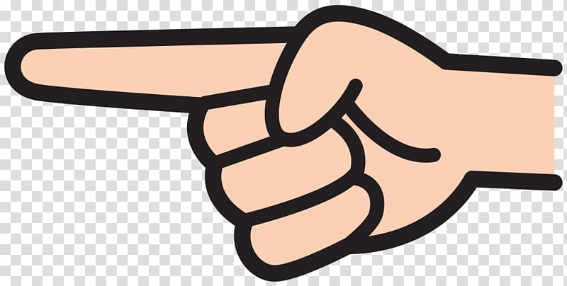 Finger pointing clipart vector download Index finger Pointing Index Point , FINGER POINT transparent ... vector download