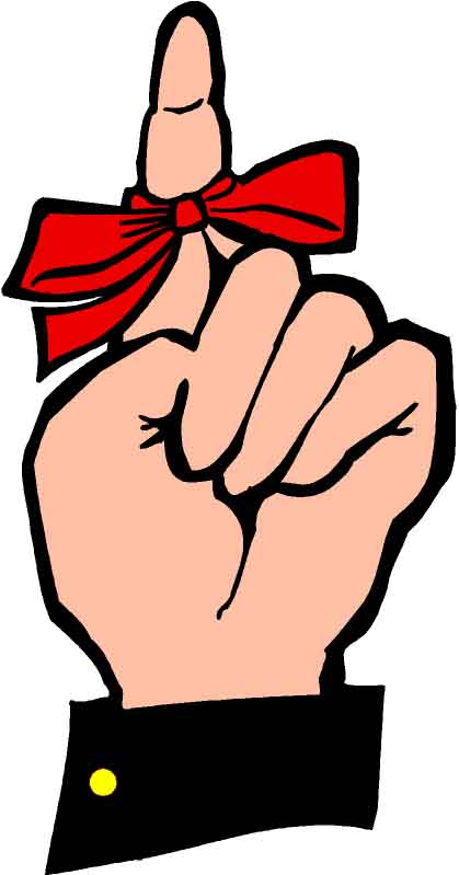 Finger with ribbon clipart picture free stock Gallery For > Clipart Finger with Ribbon picture free stock