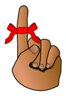 Finger with ribbon clipart clip library library Ribbon Finger - Free backgrounds, free vector graphics, and vector ... clip library library