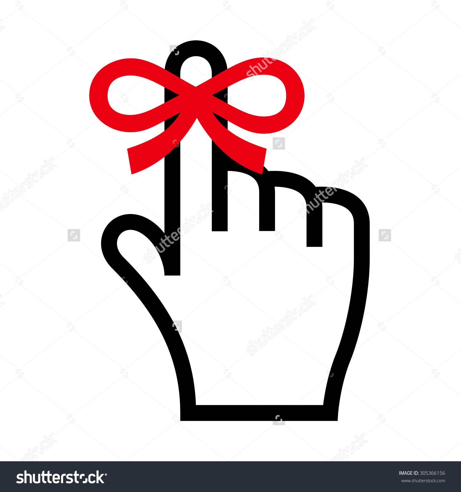 Finger with ribbon clipart clip royalty free Finger with ribbon clipart - ClipartFest clip royalty free