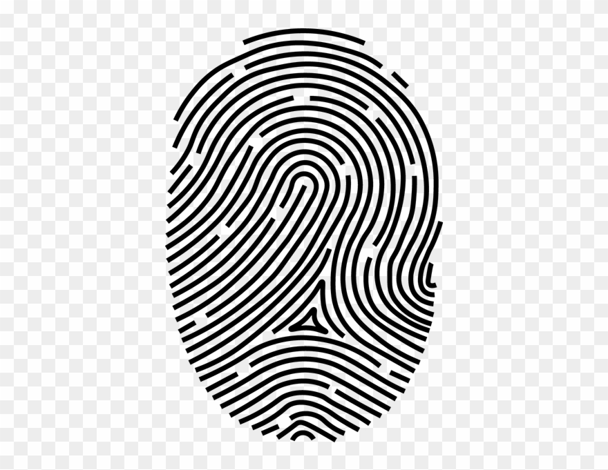 Fingerprint images clipart png library library Print Fingerprint Clipart (#861970) - PinClipart png library library