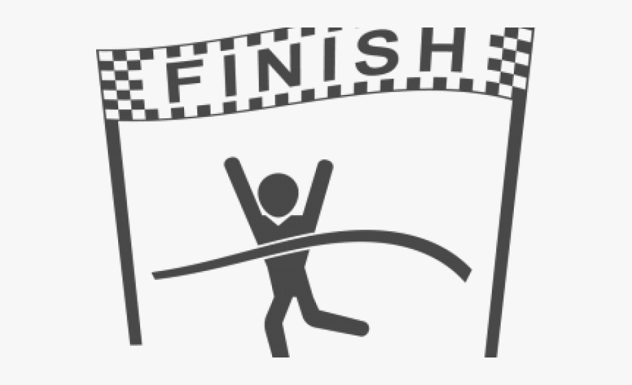 Finish line clipart black and white svg royalty free download Finish Line Clipart, Cliparts & Cartoons - Jing.fm svg royalty free download
