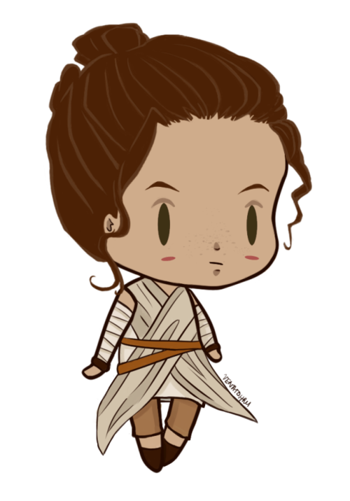 Star wars rey clipart banner royalty free download chibi star wars | Tumblr banner royalty free download