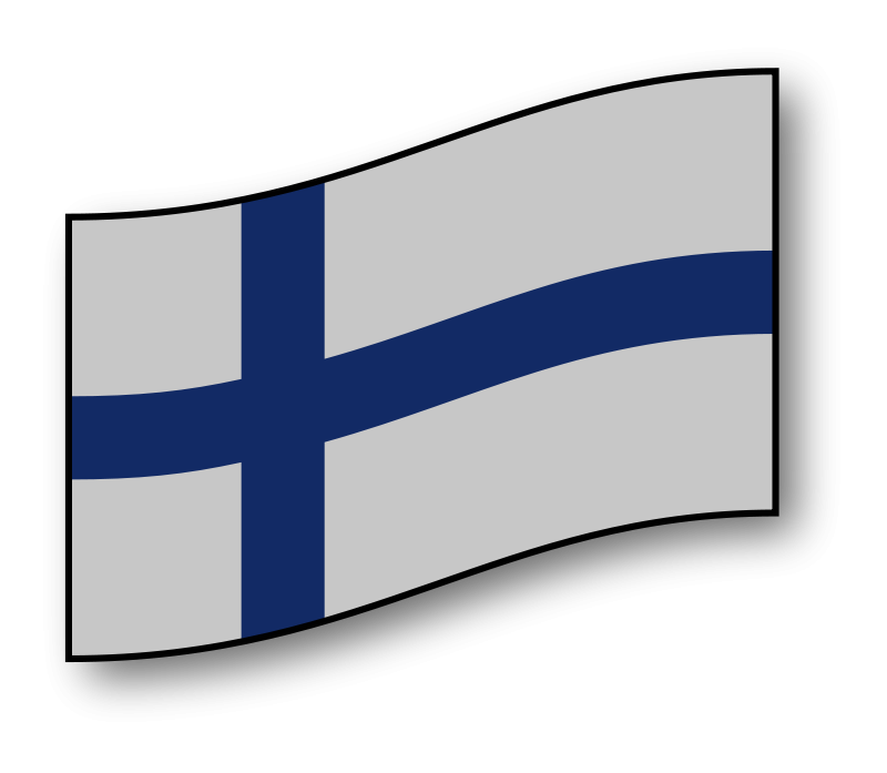 Finnish clipart image download Free Clipart: Finland flag   GMcGlinn image download