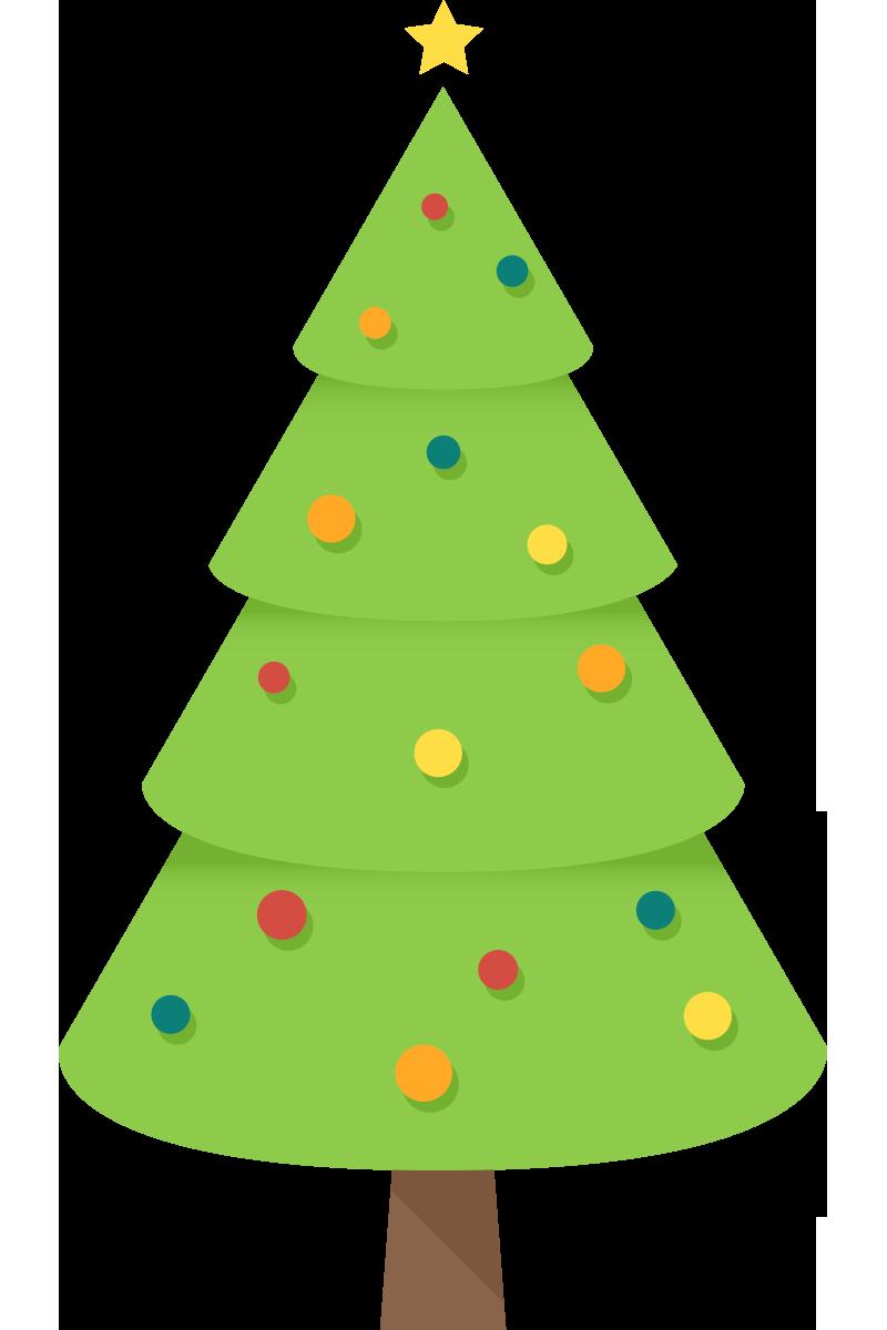 Simple christmas clipart clip art transparent stock Christmas Tree Clipart Free Clip Art Images FreeClipart - Clip Art ... clip art transparent stock