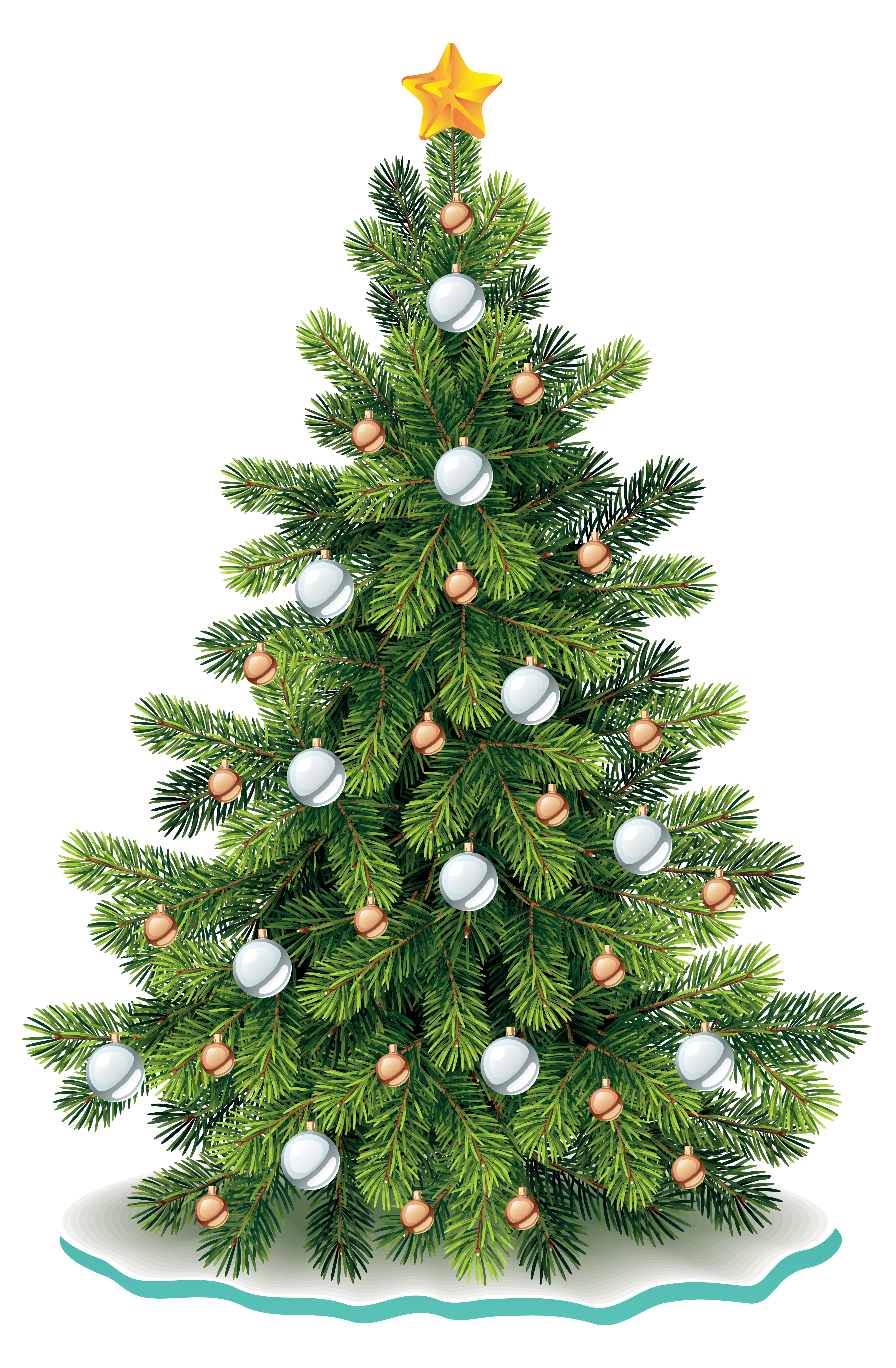 Fir tree clipart graphic free library Christmas Tree PNG Clipart Image | Gallery Yopriceville - High ... graphic free library