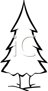 Fir tree clipart black and white free png royalty free library Black And White Pine Tree Clipart | Clipart Panda - Free Clipart Images png royalty free library