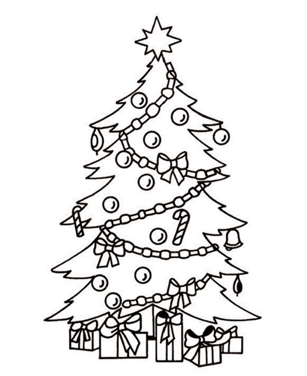 Fir tree clipart black and white free banner freeuse Free Christmas Tree Clip Art Black And White, Download Free Clip Art ... banner freeuse