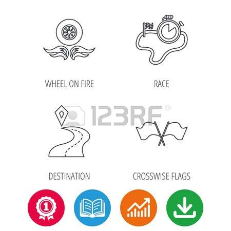 Fire arrow outline clipart graphic download 208 Track Logo Outline Stock Vector Illustration And Royalty Free ... graphic download