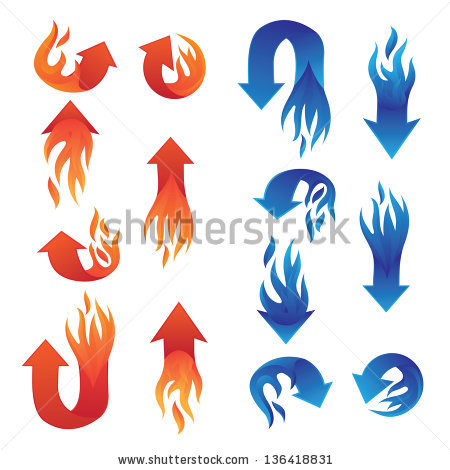 Fire arrow outline clipart picture black and white library alitdesign's Portfolio on Shutterstock picture black and white library