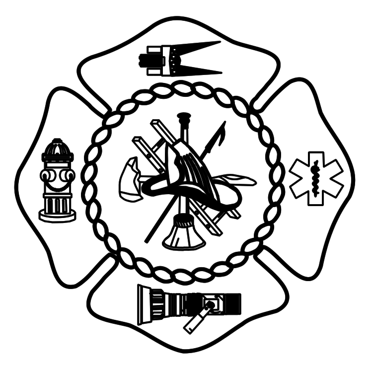 Fire badge clipart free black and white download Free Free Fire Department Clipart, Download Free Clip Art, Free Clip ... black and white download