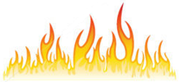 Picture of flames clipart svg transparent Black And White Fire Clipart Borders - C #129723 - PNG Images - PNGio svg transparent