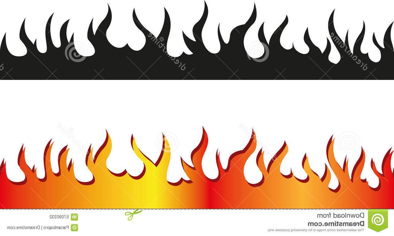 Fire border clipart black and white graphic library Fire Border Clipart | Free download best Fire Border Clipart on ... graphic library