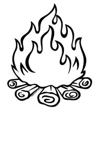 Fire clipart black and white in a line jpg royalty free Free Fire Line Cliparts, Download Free Clip Art, Free Clip Art on ... jpg royalty free