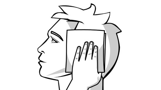 Fire coming out of ears clipart black and white picture download 3 Ways to Unclog a Clogged Ear - wikiHow picture download