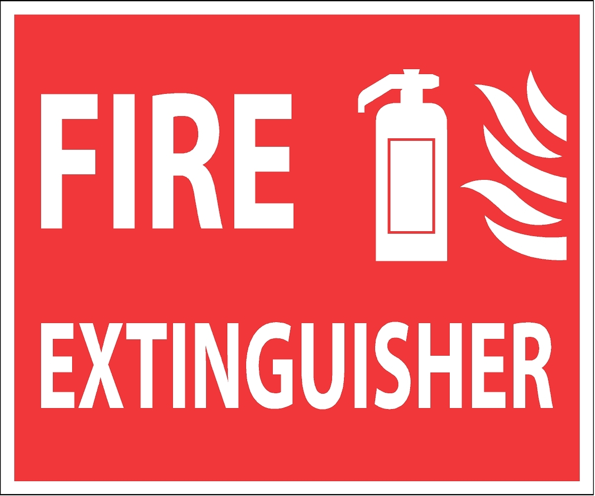 Fire extinguisher sign clipart image royalty free download Free Printable Fire Extinguisher Signs, Download Free Clip Art, Free ... image royalty free download