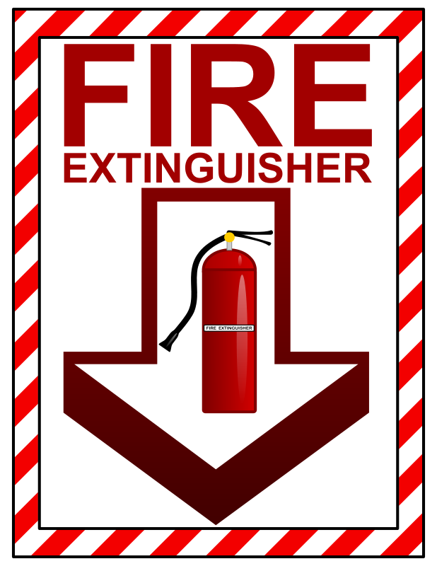 Fire extinguisher sign clipart banner free download Free Clipart: Fire Extinguisher Sign   Arvin61r58 banner free download