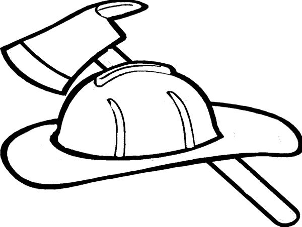 Fire fighter helmet clipart black and white clipart transparent library Firefighter Clipart Black And White | Free download best Firefighter ... clipart transparent library