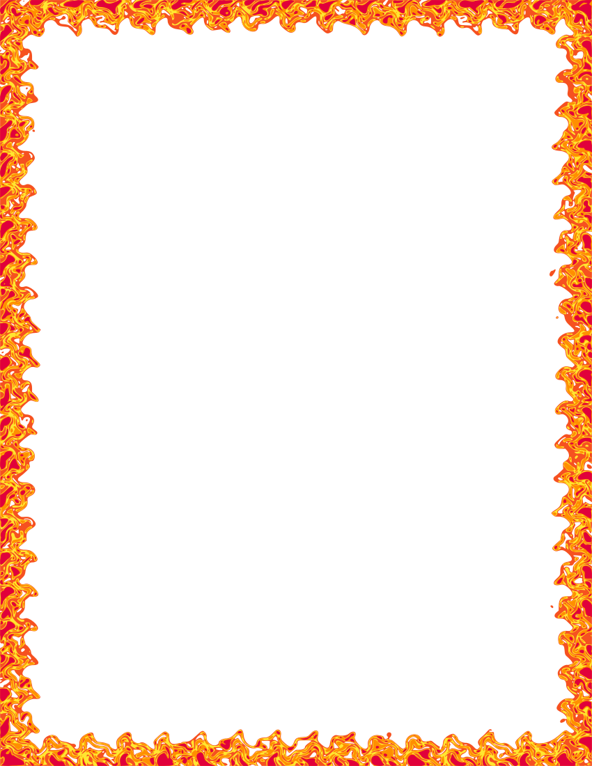 Fire frame clipart free library Light Background Frame clipart - Fire, Flame, Light, transparent ... free library