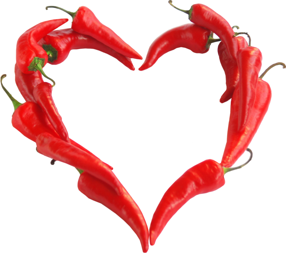 Fire heart clipart png download Chili pepper heart clipart by EXOstock on DeviantArt png download