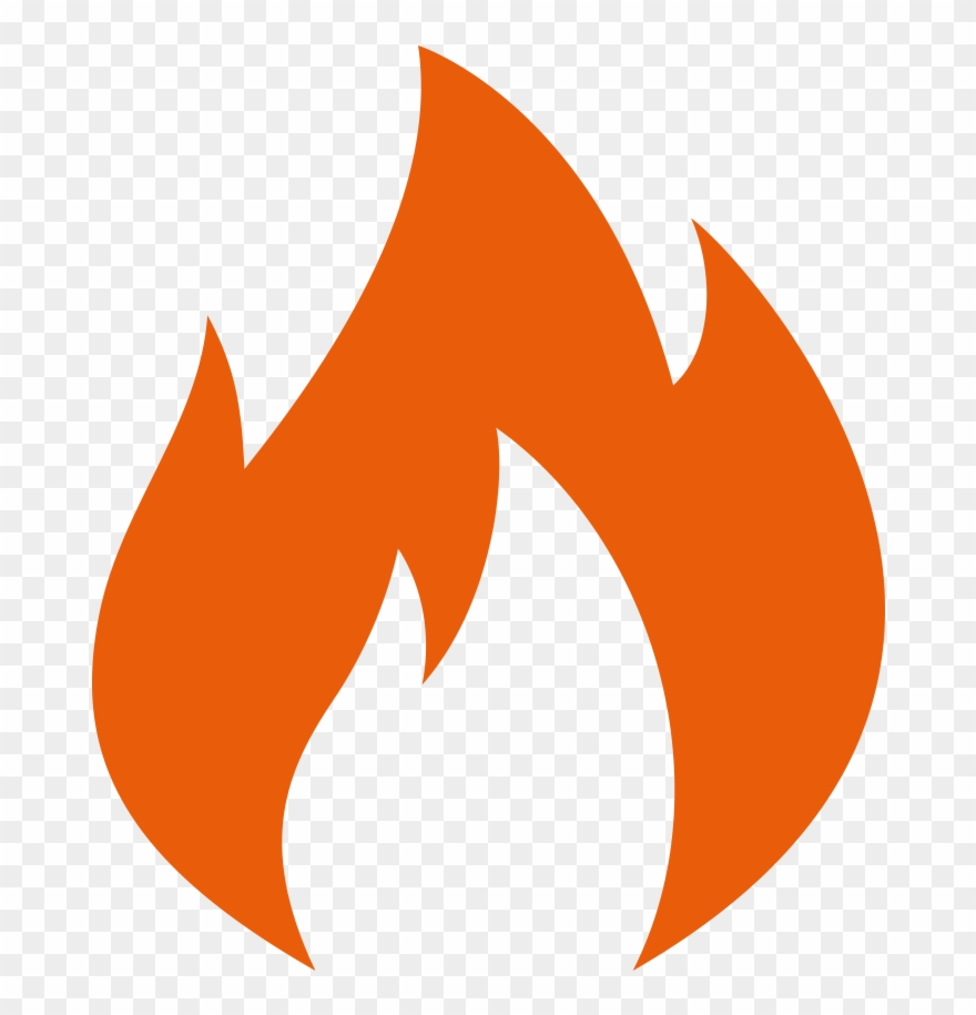 Flame logo clipart png transparent download Image Result For Fire Icon - Green Fire Flame Logo Clipart (#670188 ... png transparent download