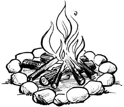 Fire pit clipart free banner transparent download Fire pit clipart free Lovely black and white fire drawing at ... banner transparent download