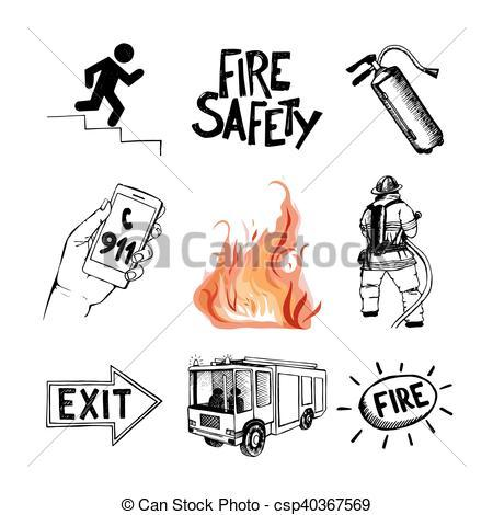 Fire safety clipart black and white clip art free download Fire safety clipart black and white 5 » Clipart Portal clip art free download