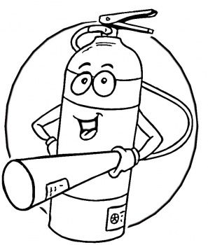 Fire safety clipart black and white vector black and white Fire Safety | Josiah turns 8! | Fire safety, Fire safety for kids ... vector black and white