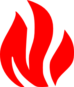 Fire safety logos clipart vector transparent stock Fire Flames Symbol clip art - vector clip art online, royalty free ... vector transparent stock
