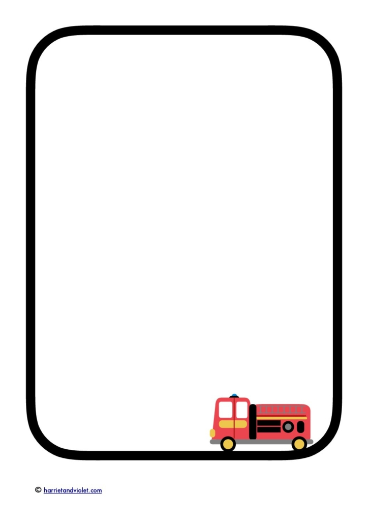 Fire truck border clipart png royalty free download Fire Border | Free download best Fire Border on ClipArtMag.com png royalty free download