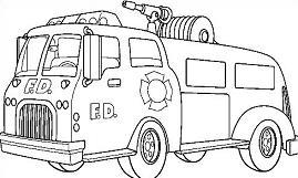Fire truck clipart black white clipart black and white Free Fire Truck Black And White Clipart, Download Free Clip Art ... clipart black and white