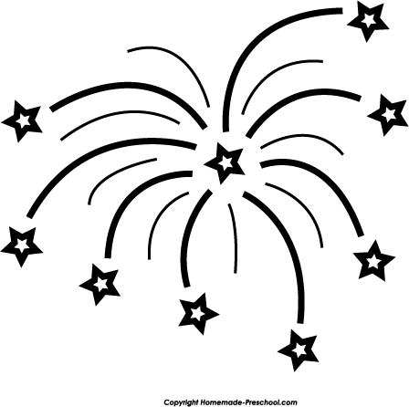Fireworks clipart black and white clip stock Black And White Fireworks Clipart | Free download best Black And ... clip stock