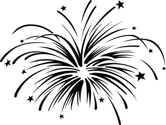 Fireworks black and white clipart svg royalty free library Firework Clipart Black And White | Free download best Firework ... svg royalty free library