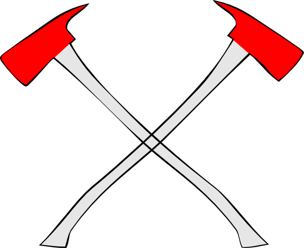 Firefighter axe clipart image free fire axe cross tattoo - Google Search | Tattoos | Fire image ... image free