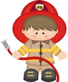 Firefighter clipart for kids picture black and white library Firefighter clipart for kids 3 » Clipart Station picture black and white library