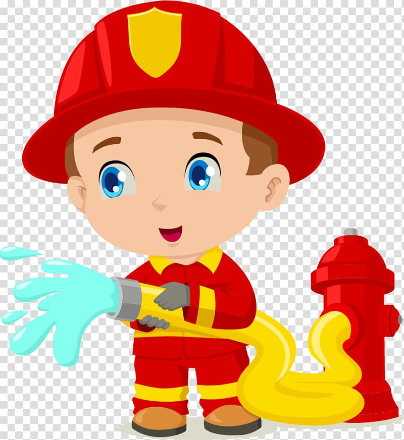 Firefighter clipart png