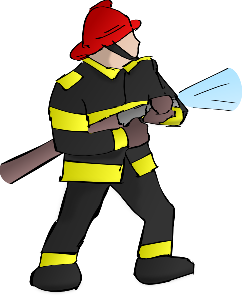 Firefighter clipart png banner transparent library Fire Fighter Clip Art at Clker.com - vector clip art online, royalty ... banner transparent library