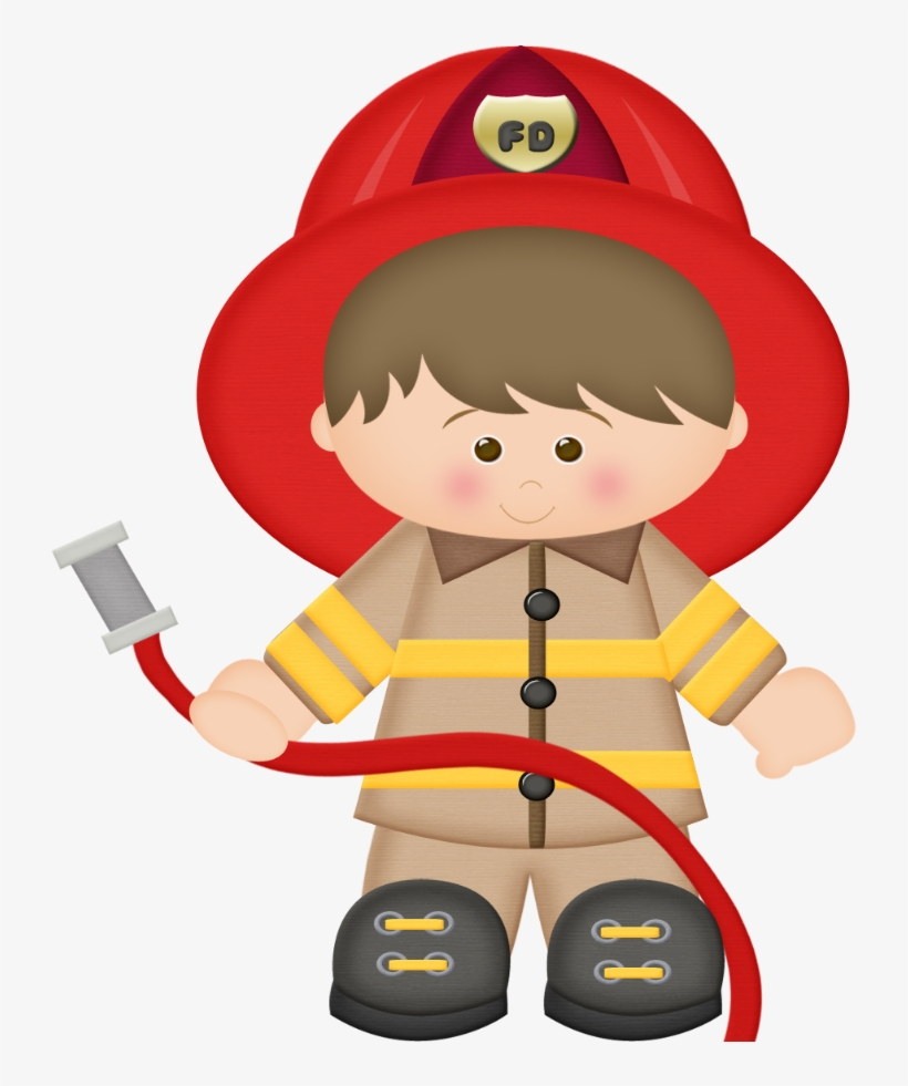 Firefighter clipart png clipart free download Firefighter Clipart Little - Cute Fireman Clipart Transparent PNG ... clipart free download