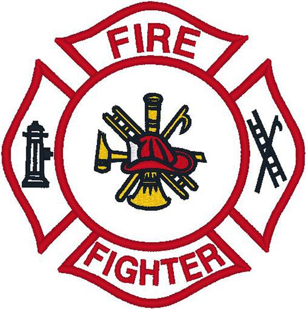 Firefighter emblem clipart vector royalty free download Firefighter Logo Clip Art N16 free image vector royalty free download