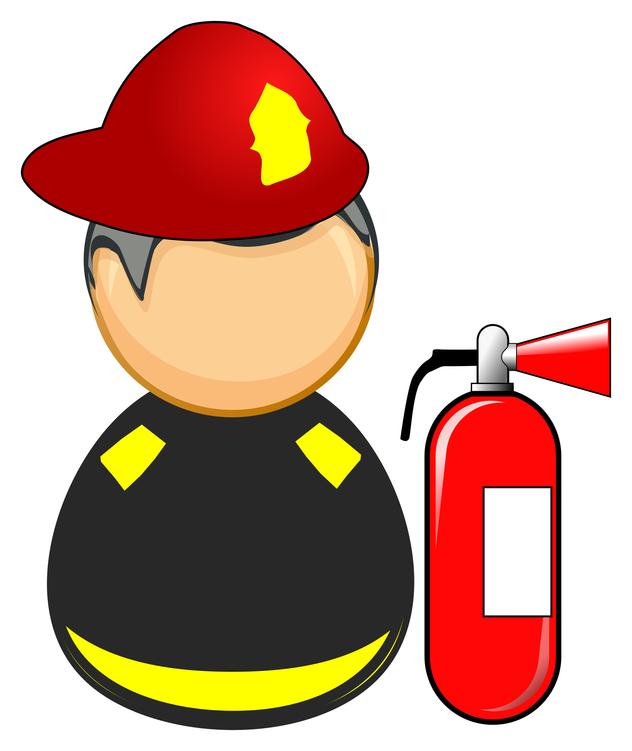 Firefighter kneeling at the cross clipart clip art transparent stock Firefighter Silhouette Clip Art at GetDrawings.com | Free for ... clip art transparent stock