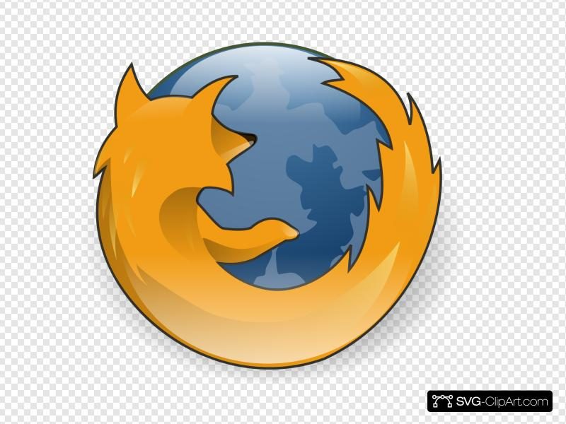 Firefox clipart png royalty free download Mozilla Firefox Symbol Clip art, Icon and SVG - SVG Clipart png royalty free download