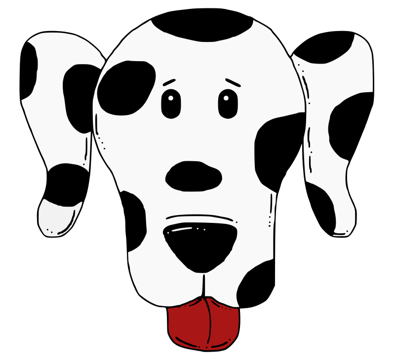Firehouse dog clipart image black and white Dalmation Clip Art - Cliparts.co image black and white
