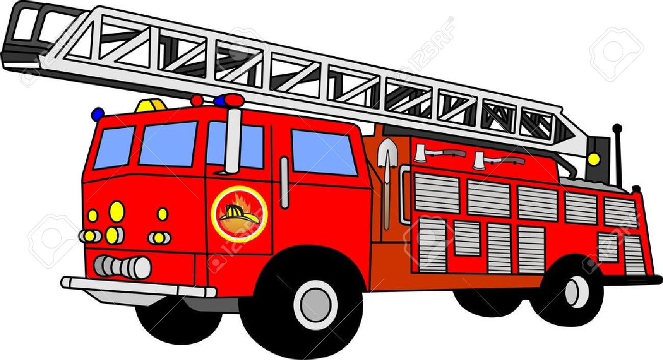 Vector firetruck clipart svg black and white library Fire truck clip art images - ClipartBarn svg black and white library