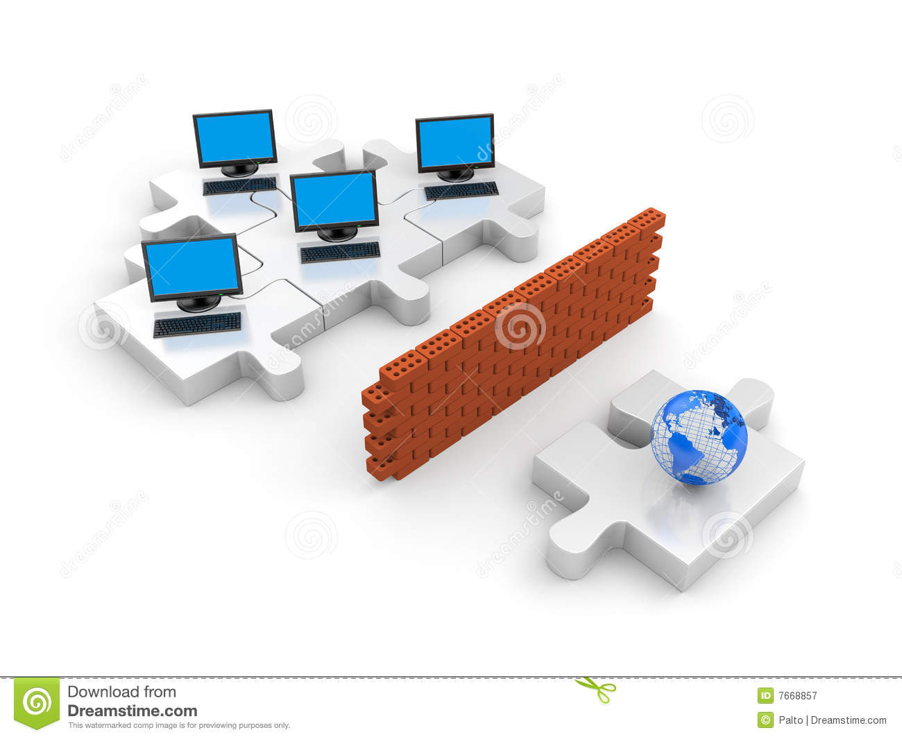 Firewall security clipart Firewall. Information Security Concept Royalty Free Stock ... clipart