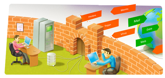 Firewall security banner free download reasoft solutions | Network Security banner free download