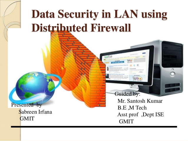 Firewall security vector black and white Data security in local network using distributed firewall ppt vector black and white