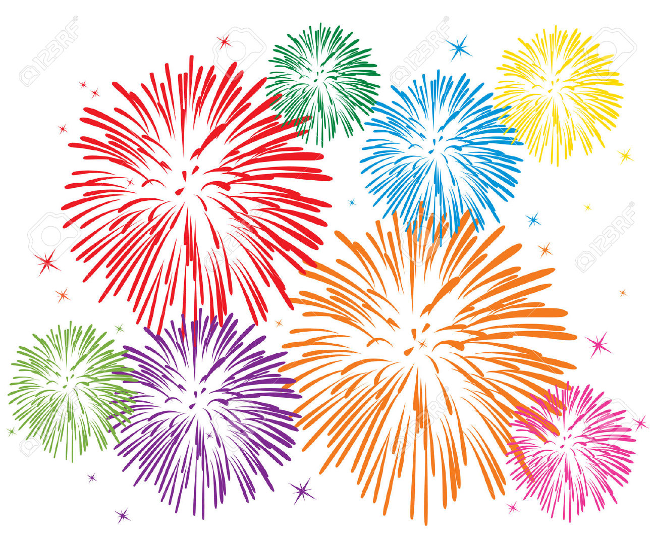 Firework images clipart graphic royalty free stock Clipart Of Fireworks & Look At Clip Art Images - ClipartLook graphic royalty free stock