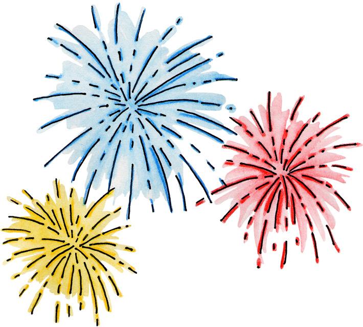 Firework images clipart image freeuse download Free fireworks clipart - Clipartix image freeuse download