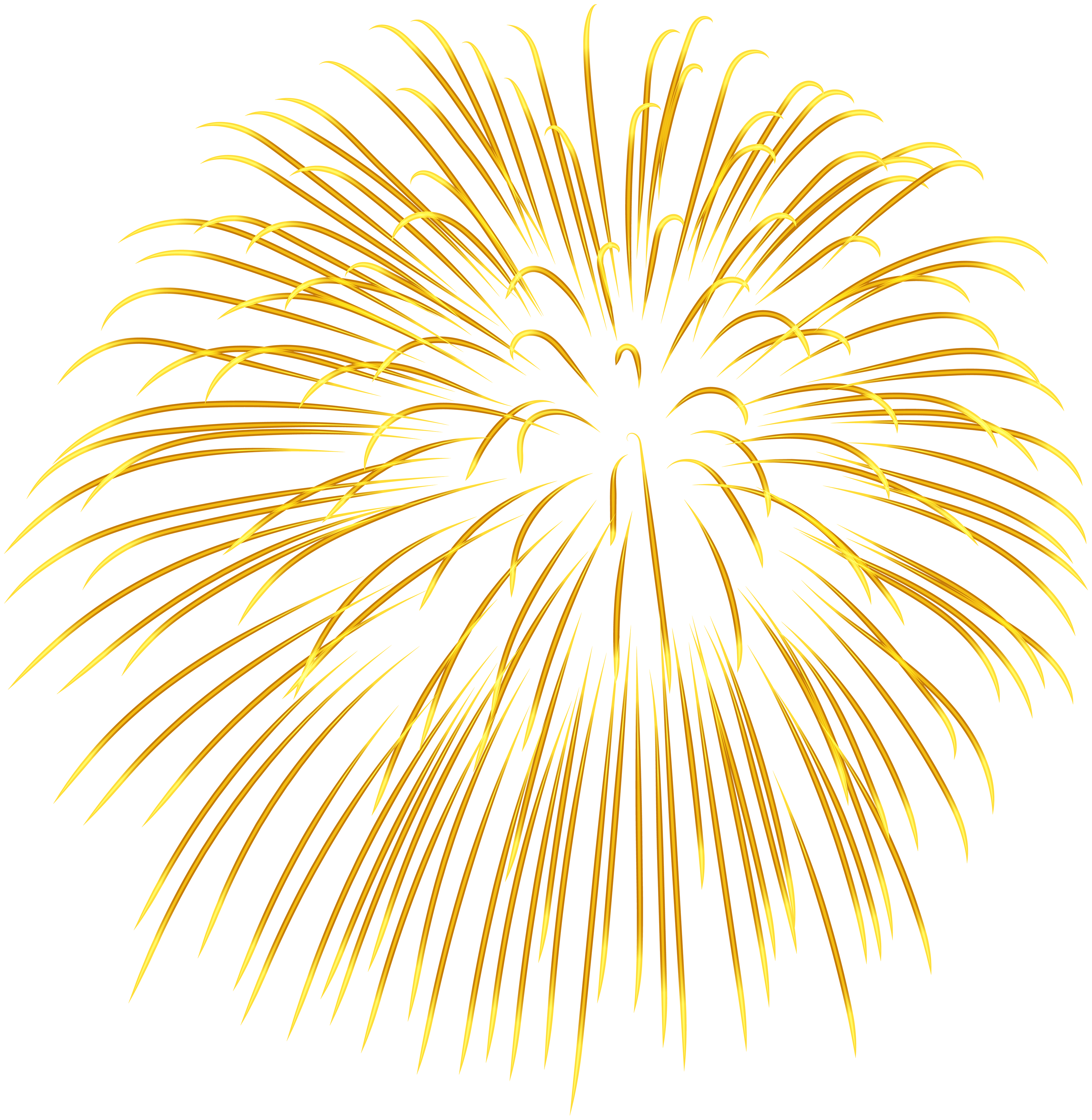 Yellow transparent png image. Firework star clipart