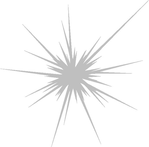 Firework star clipart